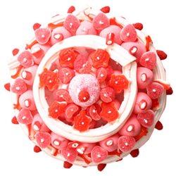 Maxi Gâteau de Bonbons roses