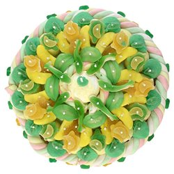 Maxi Gâteau de Bonbons verts