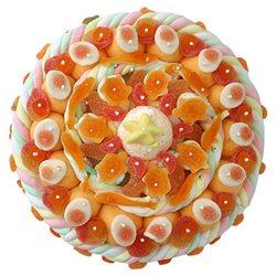 Maxi Gâteau de Bonbons oranges