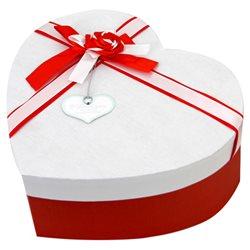 Boîte Coeur Rouge Large