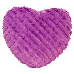 Coussin Coeur Violet