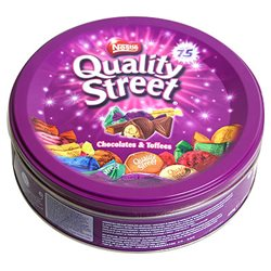Quality Street Original Metal Box