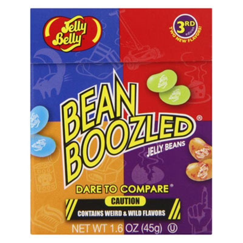 Jelly Belly Boozled Toxic Horrible