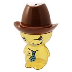 Boîte à Bonbons Cowboy Tirelire Brune