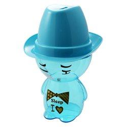 Boîte à Bonbons Cowboy Tirelire Bleue