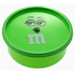 Boîte à Bonbons M&M's Verte