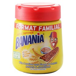 Pâte à tartiner Banania Cacao Céréales Bananes Maxi