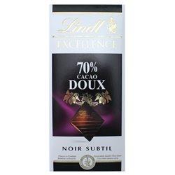 Lindt Excellence Noir Subtile 70% Cacao Doux