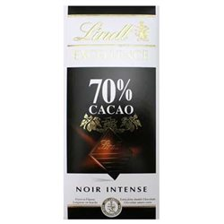 Lindt Excellence Noir Intense 70% Cacao