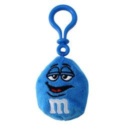 Porte Clé Clip M&M's Bleu