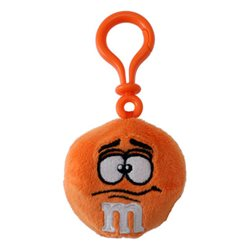 Porte Clé Clip M&M's Orange