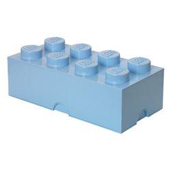 Box Surpriz Lego pleine de bonbons (brick 4x2, bleu clair)