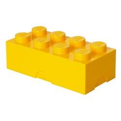 Box Surpriz Lego pleine de bonbons (brick 4x2, jaune)