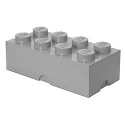 Box Surpriz Lego pleine de bonbons (brick 4x2, gris pâle)