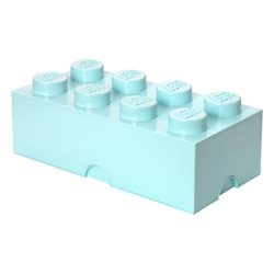 Box Surpriz Lego pleine de bonbons (brick 4x2, bleu aqua)