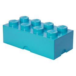 Box Surpriz Lego pleine de bonbons (brick 4x2, bleu azur)