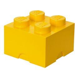 Box Surpriz Lego pleine de bonbons (brick 2x2, jaune)
