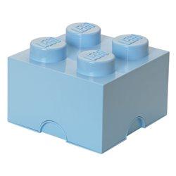 Box Surpriz Lego pleine de bonbons (brick 2x2, bleu clair)