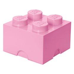 Box Surpriz Lego pleine de bonbons (brick 2x2, rose poudre)