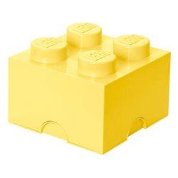 Box Surpriz Lego pleine de bonbons (brick 2x2, jaune pâle)