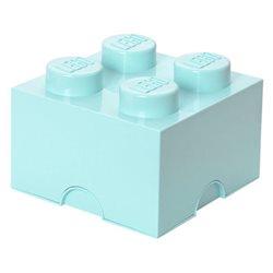 Box Surpriz Lego pleine de bonbons (brick 2x2, bleu aqua)