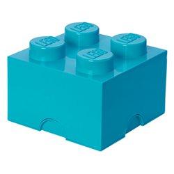 Box Surpriz Lego pleine de bonbons (brick 2x2, bleu azur)