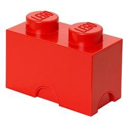 Box Surpriz Lego pleine de bonbons (brick 2x1, rouge)