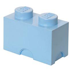 Box Surpriz Lego pleine de bonbons (brick 2x1, bleu clair)
