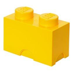 Box Surpriz Lego pleine de bonbons (brick 2x1, jaune)
