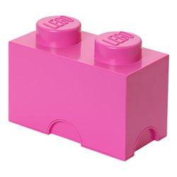 Box Surpriz Lego pleine de bonbons (brick 2x1, rose)