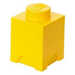 Box Surpriz Lego pleine de bonbons (brick 1x1, jaune)