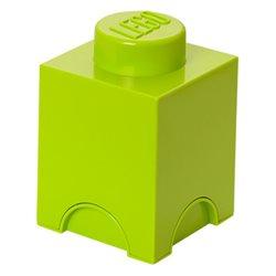 Box Surpriz Lego pleine de bonbons (brick 1x1, vert anis)