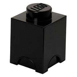 Box Surpriz Lego pleine de bonbons (brick 1x1, noir)