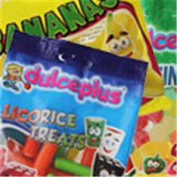 Box Surpriz Lego pleine de bonbons (round 1x1, vert anis)