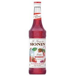 Sirop Monin Fraise Bonbon