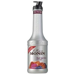 Sirop Le Fruit de Monin Fruits Rouges