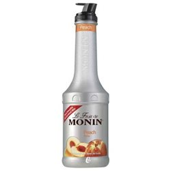 Sirop Le Fruit de Monin Pêche