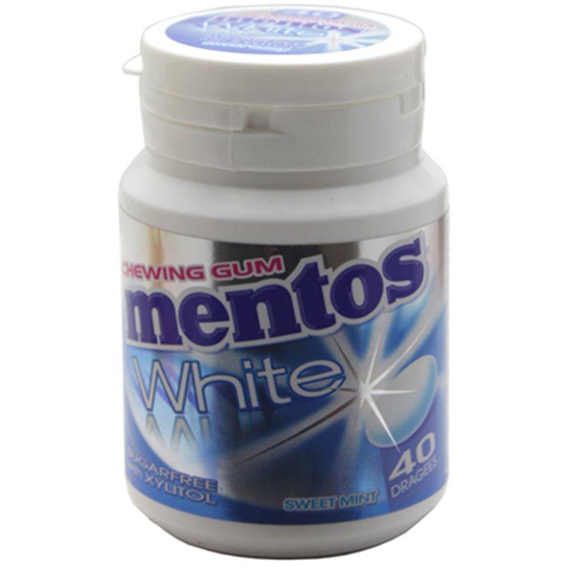 Mentos Gum White Sweet Mint