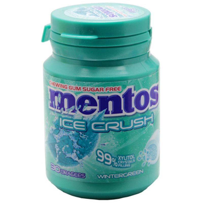 Mentos Gum Ice Crush Wintergreen