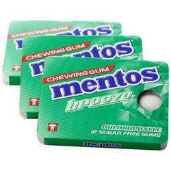 Mentos Gum Breeze Chlorophylle