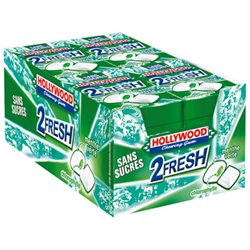 Hollywood 2Fresh Menthe Verte Chlorophylle