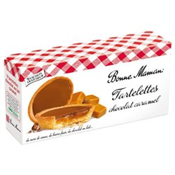 Bonne Maman Tartelettes Chocolat Caramel (lot de 3)