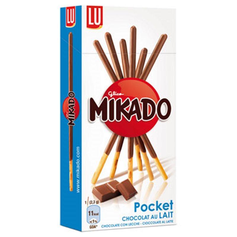 Mikado Pocket Chocolat Au Lait (lot de 9)