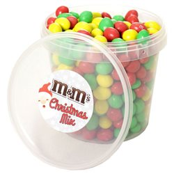 M&M's Box Christmas Mix Yellow Édition Noël