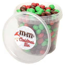 M&M's Box Christmas Mix Brown Édition Noël