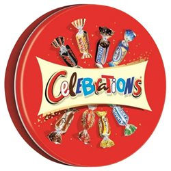 Celebrations Collector Metal Box