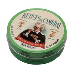 Boîte à bonbons collection Cambrai verte
