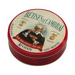 Boîte à bonbons collection Cambrai rouge