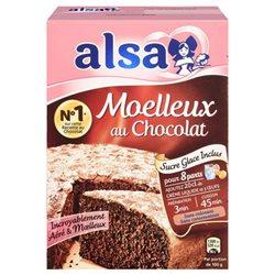 Alsa Préparation Gâteau Moelleux Chocolat