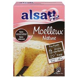 Alsa Préparation Gâteau Moelleux Nature